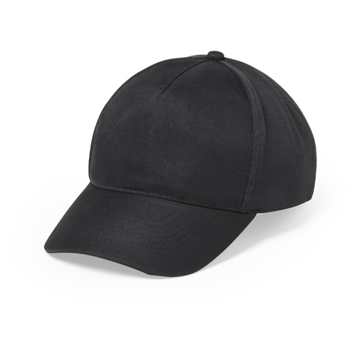 664217deb Baseballová čiapka s 5timi panelmi a zapínaním na suchý zips. Polyester /  mikrovlákno.