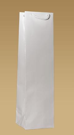 Ekologické papierové tašky na víno laminované