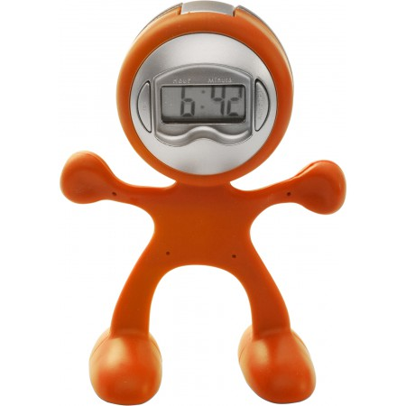 Sport-man clock with alarm,