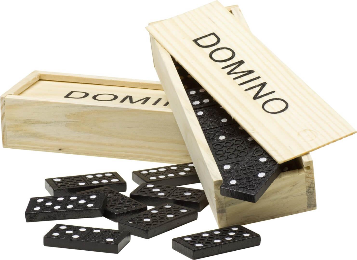 Hra Domino v drevenej krabici, neutrál